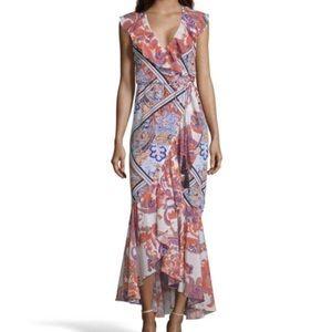 Robert Graham 100% silk printed Sophia dress